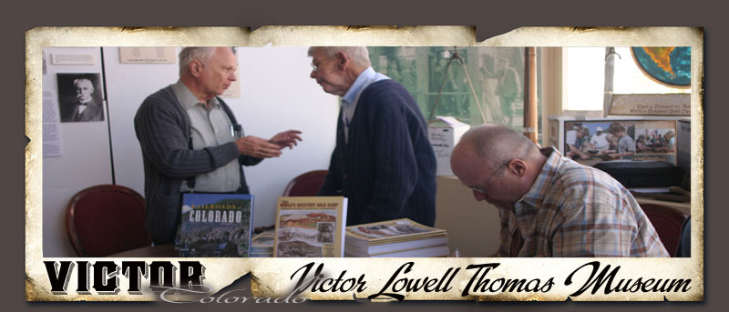 Victor Museum Book Signing
